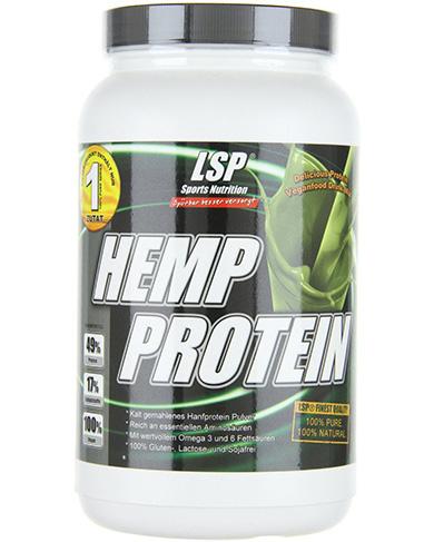 LSP Hemp Protein, конопляный протеин1 кг натуральный
