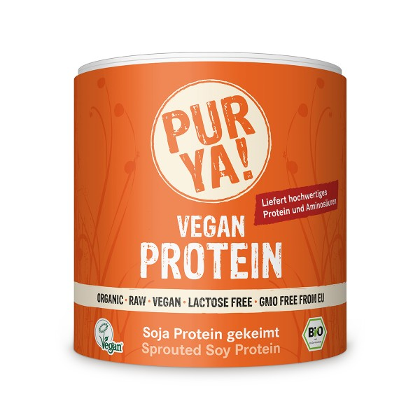PURYA Sprouted Soy Protein, протеин из проростков сои, 250 гр
